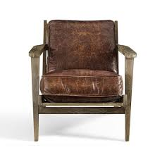 Sale Armchair Pottery Barn Sale Save 25 Leather Furniture U0026 More This Weekend
