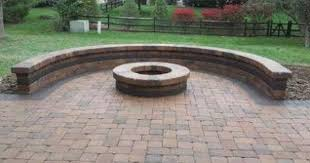 Best 20 Paver Patio Designs Ideas On Pinterest Paving Stone by Patio Designs With Fire Pit Sitting Walls Columbus Decks