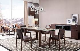 fdt134 modern extendable dining table modo furniture