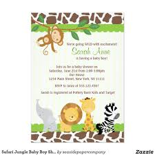 vintage owl baby shower invitations safari jungle baby boy 5x7 shower invitations artwork designed by