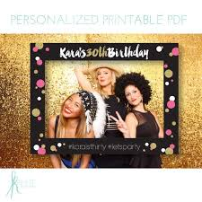 diy photo booth frame printable large photo frame prop diy by kreategraphicdesign