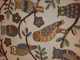 Upholstery Weight Fabric Wise Owl Tapestry Heavy Weight Upholstery Fabric Rg100