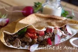 la cuisine libanaise chawarma viande la cuisine de amal