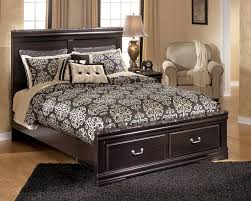 South Coast Bedroom Furniture By Ashley Esmarelda Queen Panel Bed W Storage By Ashley Home Gallery Stores