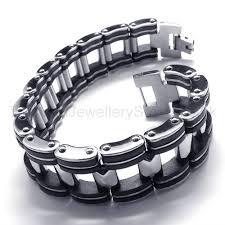 titanium men cool men s titanium box link bracelet 18309 91 titanium jewellery uk