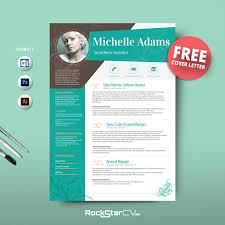 advertising template free 50 creative resume templates you won t believe are microsoft word resume template free cover letter