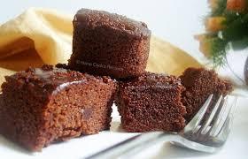 Eggless Moist Chocolate Cake Home Cooks Recipe