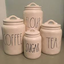 kitchen tea coffee sugar canisters best 25 canister sets ideas on glass canisters crate