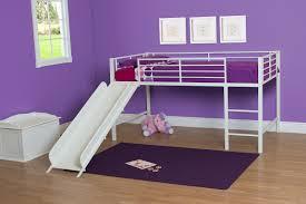 girls loft bed with slide modern loft beds