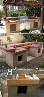 diy outdoor kitchen ideas to build outdoor kitchen island modern best diy ideas grill station