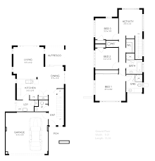 home floor plans basement bedrooms three story house endear