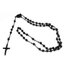 black rosary cheap black and rosary necklace find black and rosary