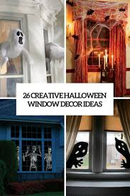 Creative Halloween Decoration Ideas Picture Of Creative Halloween Window Decor Ideas Cover Window