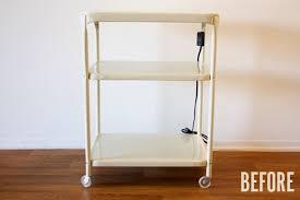 Sunnersta Utility Cart 14 Inspiring Diy Bar Cart Designs And Makeovers