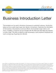 Business Collection Letter Sample by Best Photos Of Business Introduction Letter Template Sample