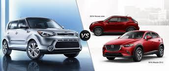 nissan juke gas mileage 2016 kia soul vs 2016 mazda cx 3 vs 2016 nissan juke