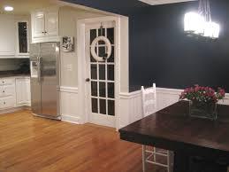 navy dining room home design ideas