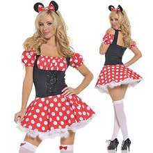 Minnie Mouse Halloween Costumes Adults Popular Minnie Mouse Halloween Costume Buy Cheap Minnie