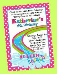 5th birthday party invitation birthday pool party invitations cimvitation