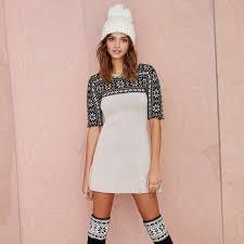 fair isle sweater dress fair isle sweater dress
