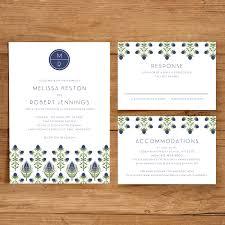 wedding invitation templates download printable wedding invitation template set floral wedding