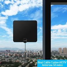 Hd Antenna Map Amazon Com Lovebay 1080p Digital Hdtv Antenna 50 Miles Range
