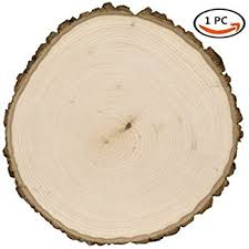 coco unpainted blank wood slices with