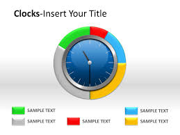 Free Powerpoint Timeline Template Analog Clock Powerpoint Template Powerpoint Presentation Ppt
