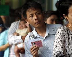 Seeking Card Cast Burma Ethnic Minorities Eye Equality In Landmark Elections Time