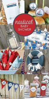 Baby Showers Ideas by Nautical Theme Baby Shower Ideas My Sister U0027s Suitcase Packed
