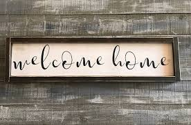home decor wall signs welcome home sign wood sign signs home decor rustic decor