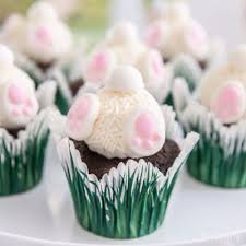 Decorate Easter Bunny Cupcakes easter bunny hop cupcakes idea party city
