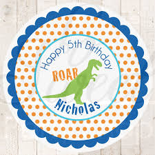 dinosaur birthday party supplies dinosaur birthday favor sticker labels dinosaur theme birthday