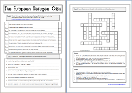 Beginning Middle And End Worksheets Around The World In English The European Refugee Crisis Worksheet