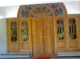 kerala style carpenter works and designs wooden window frame with