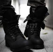 s army boots uk retro mens motorcycle lace up combat boots tactical