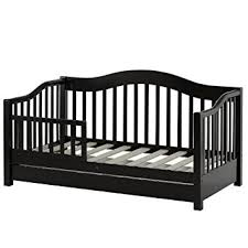 amazon com dream on me toddler day bed black toddler daybed