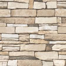 brick stone pattern vinyl self adhesive wallpaper roll peel stick