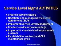 Help Desk Service Level Agreement I Nformation T Echnology I Nfrastructure L Ibrary Ppt Download