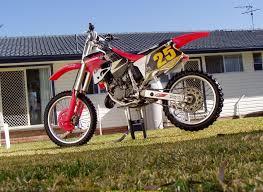 honda cr 125 dirtbike rider picture website