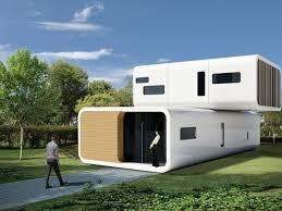white modular prefab concept modular houses generva