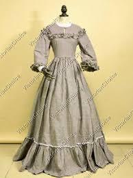 Victorian Style Halloween Costumes Civil War Victorian Country West Prairie Dress Ghost Halloween