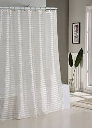 Natural Linen Curtain Fabric Linen Shower Curtains Amazon Com