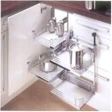 Kitchen Cabinet Carousel Corner Modular Kitchen Accessories Manufacturer From New Delhi