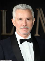 baz luhrmann baz luhrmann looks dapper suit and tie bfi gala in london daily