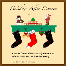 holidays after divorce how do you do it
