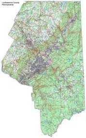 Taylorsville Lake Map Lackawanna County Pennsylvania Township Maps