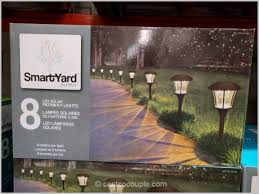 smartyard led string lights costco solar lights inspire smartyard led solar pathway lights