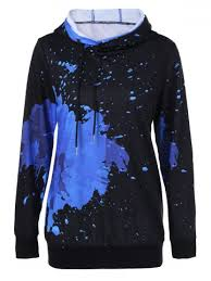 splatter paint drawstring hoodie fashion sites dress shoes and