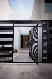 Modern Front Door Designs Best 25 Modern Gates Ideas On Pinterest Aluminium Fencing